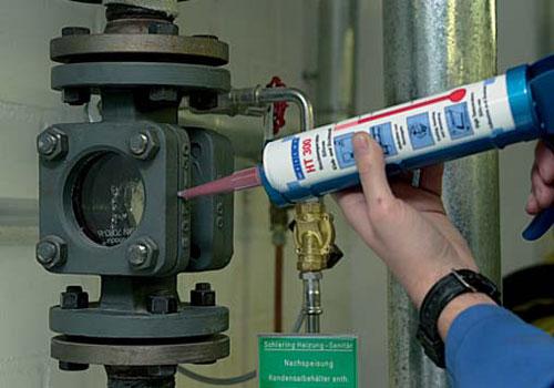 WEICON Silicone НТ 300 высокотемпературный силикон до +300 С