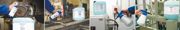 Технические жидкости WEICON для очистки и обезжиривания